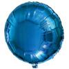 40センチアルミ風船(UFOバルーン)ブルー